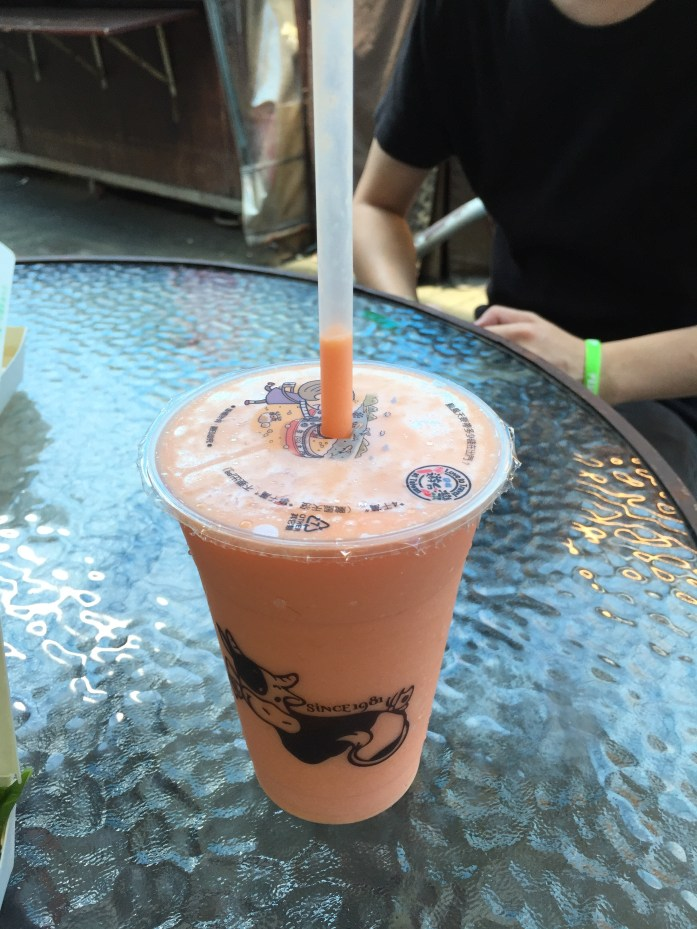 "Papaya ""milk"""