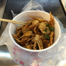 More deep fried soft-shelled crab