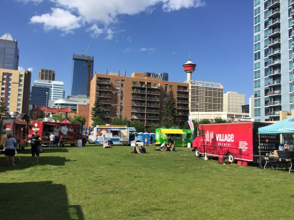 YYCFoodTrucks Taste The Trucks event.