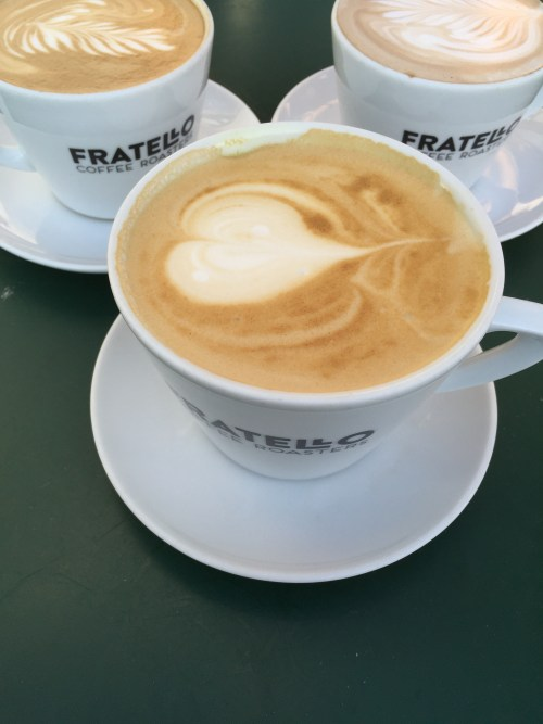 Fratello coffee served!