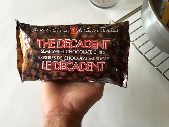 """PC """"The Decadent"""" Chocolate Chips."""