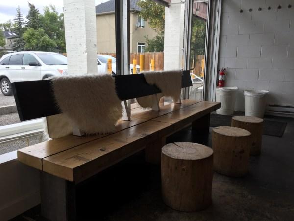 Social bench.