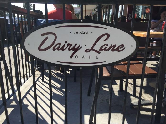 Dairy Lane Cafe.
