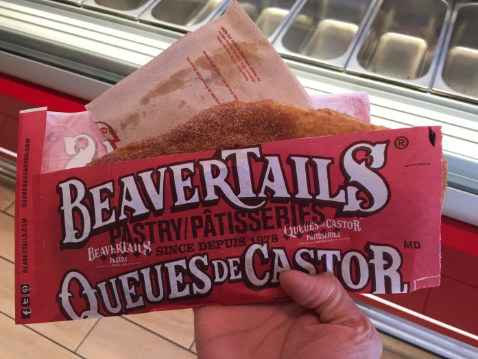 The original Beavertail: sugar & cinnamon! OG is still best :)