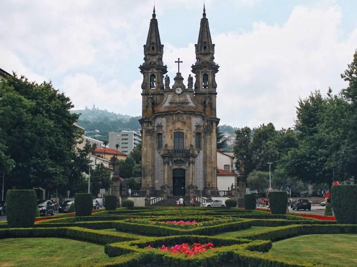 Day trip to Guimaraes (Guimarães)! Igreja de Nossa Senhora da Oliveira