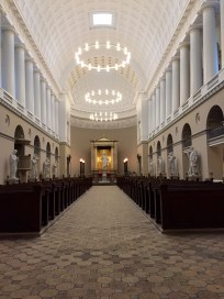 Church of Our Lady - Copenhagen Cathedral; visited during class to study the architecture