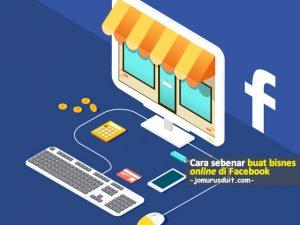 buat bisnes online di facebook
