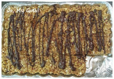 Make these healthy granola bars-- perfect for shipping in care packages!