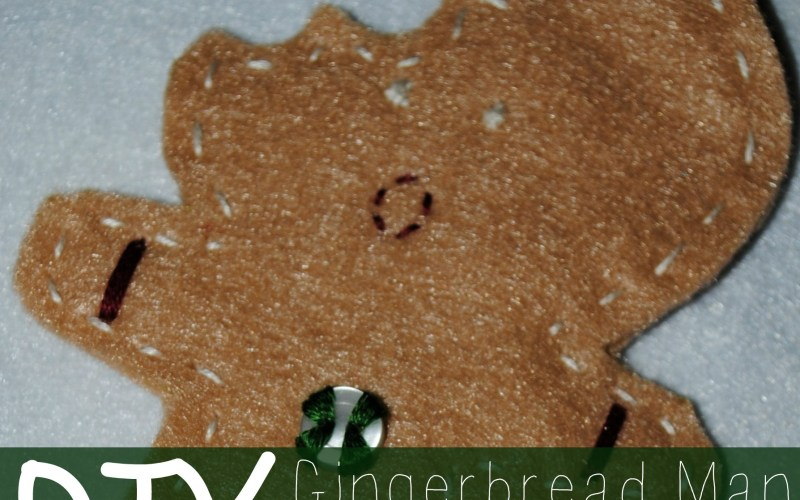 DIY Gingerbread Man Ornament