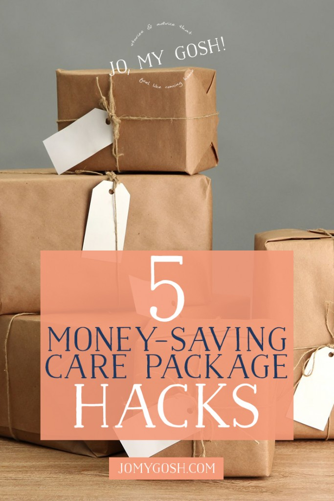 GENIUS tips for saving money on care packages from someone who has sent more than 70 in 3 years.