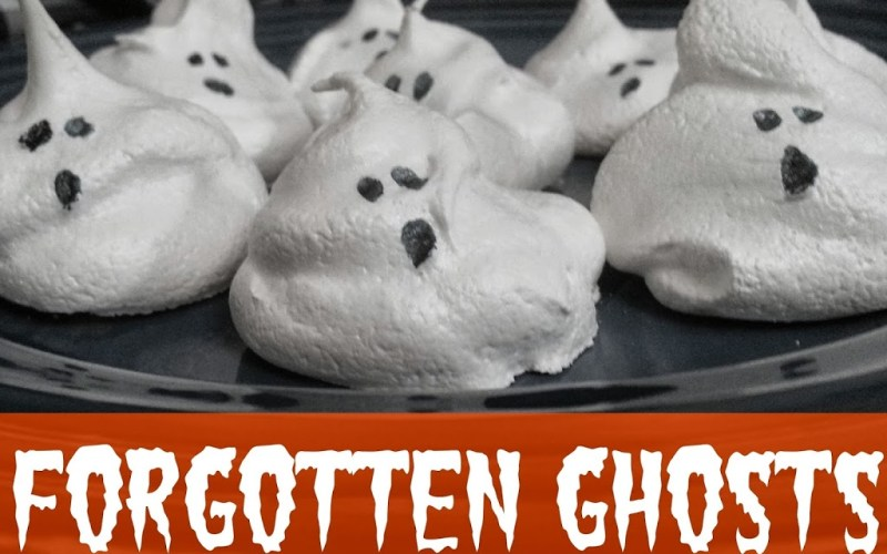 Forgotten Ghosts Cookie Recipe