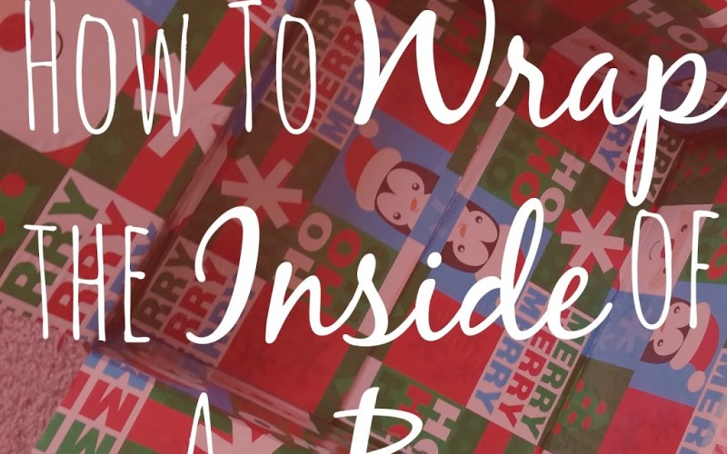 How to Wrap the Inside of a Box