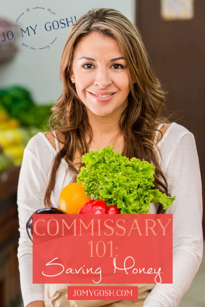 You can use Ibotta to save money at the Commissary on top of coupons and sales! I didn't know that!
