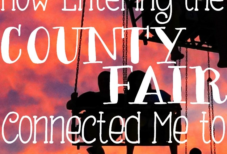 How Entering the County Fair Connected Me to Our New Hometown