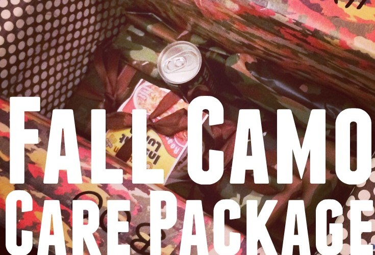 Fall Camo Care Package