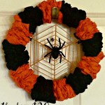 The Under $20 Spiderweb Wreath
