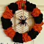 The Under $20 Spiderweb Wreath