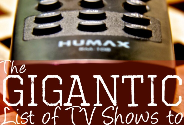The Gigantic List of TV Shows to Binge-Watch During Deployment