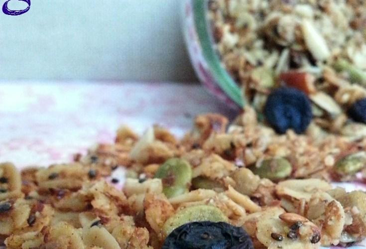 Blueberry Super Granola