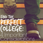 Find the Perfect College: 4 Considerations for Military Students