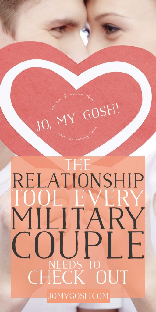Relationship tool for military couples looking to strengthen and celebrate their relationship.