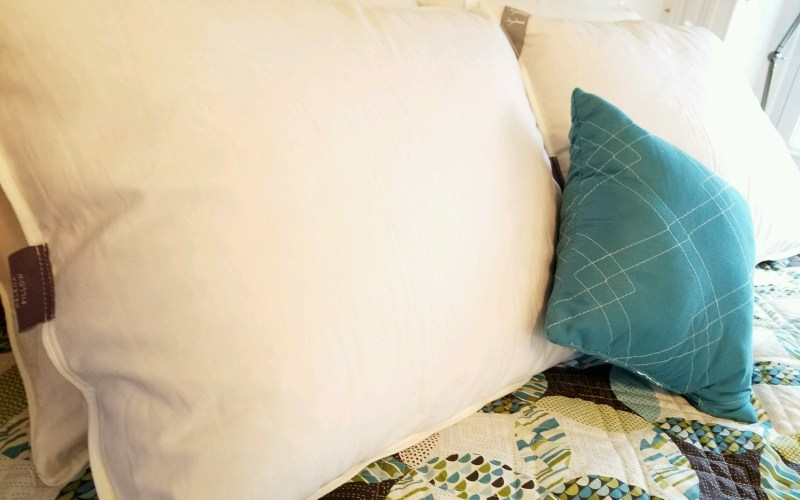 Brentwood Home Pillows Made Our Holidays Comfier (with Coupon and Giveaway!)