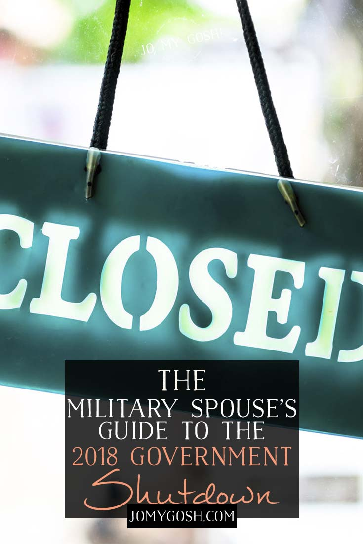 Here's everything military families and spouses need to know about the government shutdown