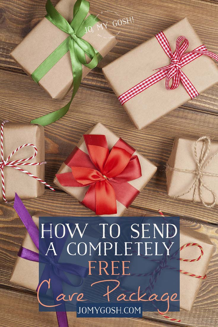 Send a free care package to deployed service members #milso #milspouse #military