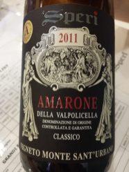 Speri 2011 Amarone della Valpolicella, Italy.
