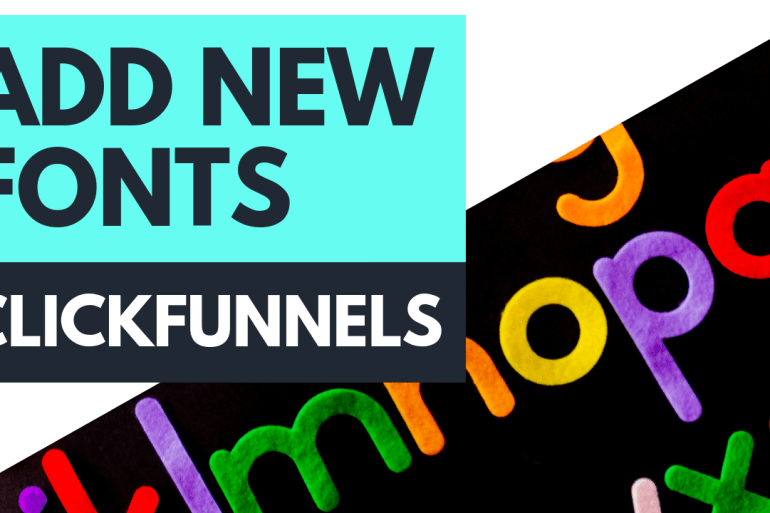ClickFunnels Add Fonts with CSS