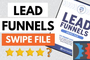 clickfunnels lead funnels swipe file book