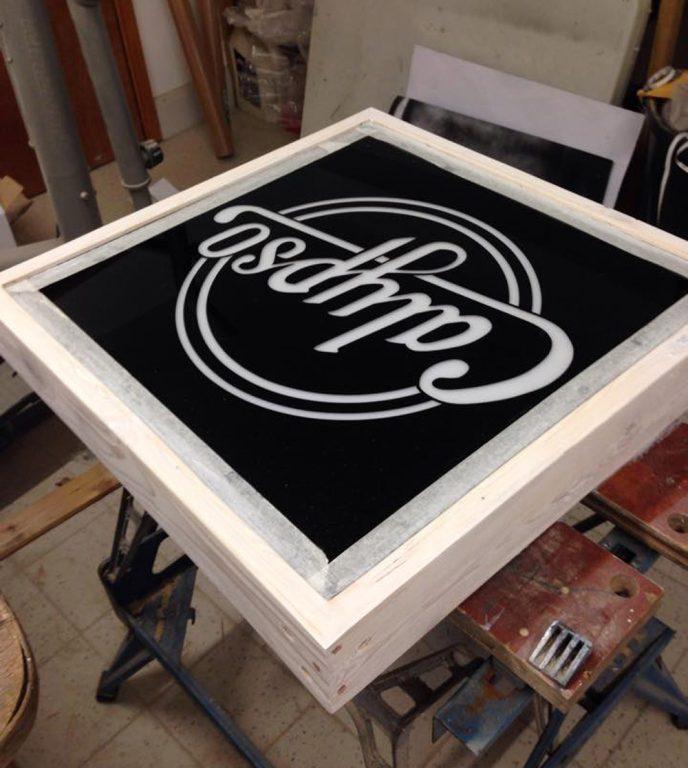 lightbox-calypso - custom light box design - wood framed