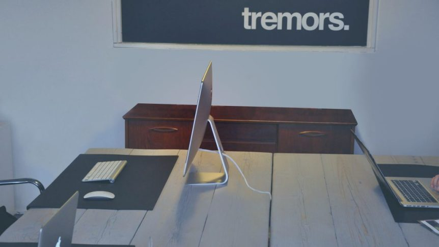 Fabrication - Office Furniture Design. Client : Tremors