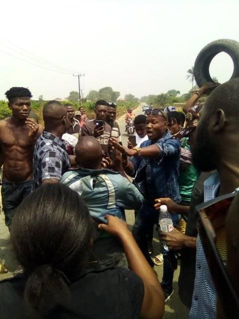 Man beaten mercilessly in Abia state for selling deadly poison