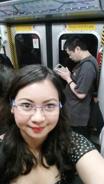 First MTR ride.
