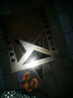 Jackie Chan's star.