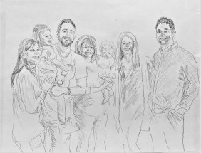 Extended family sketch