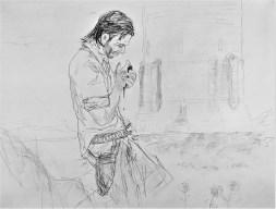 Roland the Gunslinger Outside of the Dark Tower
