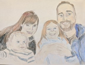 Family Portrait, This Time in Color