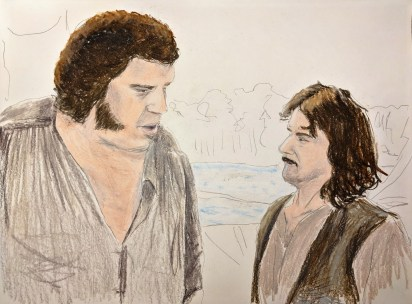 Inigo and Fezzik by Jon