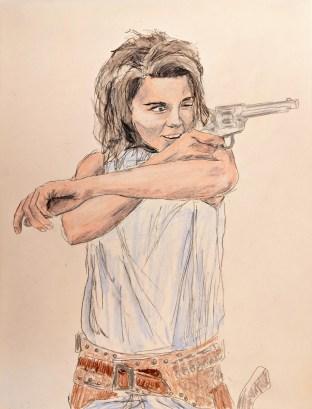 Sketch from Twitter, Ann Margret
