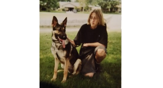 Teenage Jon and Dog.jpg