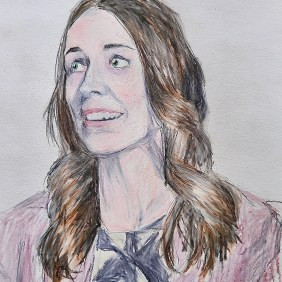 Portrait of New Zealand Prime Minister Jacinda Ardern, Amdall Gallery