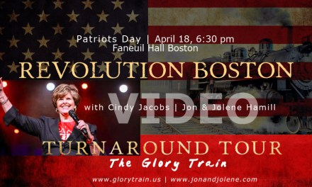 Revolution Boston Video! Cindy Jacobs Joins at Faneuil Hall