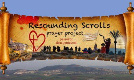 "New Website! Launching ""Resounding Scrolls Prayer Project"""