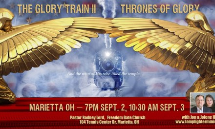 Vision! Glory Train Call Tonight with Bonnie Jones, more!