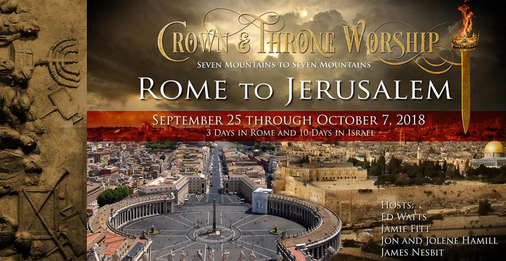 James Nesbit Tonight—Announcing the Rome to Jerusalem Tour!