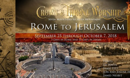 James Nesbit Tonight—Announcing the Rome to Jerusalem Tour!