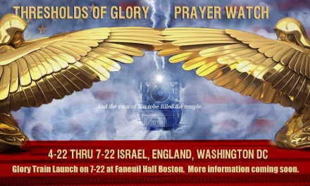 SUNDAY—NATIONAL PRAYER FOR TRUMP! Israel, England, America Breaking Through!