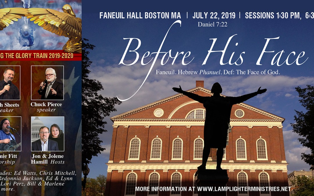 Faneuil Hall 7-22, Glory Train Schedule! Call Tonight